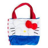 Sanrio HELLO KITTY躲貓貓造型絨毛迷你提袋S★funbox★_104507
