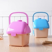 倉鼠金絲熊外帶塑料手提籠別墅運輸盒迷你外出倉鼠用品 LL272『寶貝兒童裝』