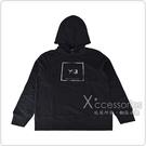 Y-3迷彩方框LOGO設計男款純棉連帽T恤(黑)