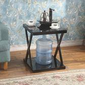 迷你小茶几鋼化玻璃現代簡約小戶型客廳邊几角几創意小方桌小桌子HD【新店開張8折促銷】