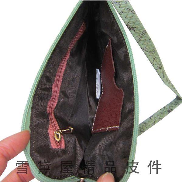 ~雪黛屋~SANDIA-POLO化妝包可放5吋手機零錢分類包手拿包進口專櫃超輕防水防刮皮革SP136-643