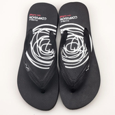 女款 牛頭牌 Newbuffalo MIT設計製造 人字拖鞋 海灘拖鞋 夾腳拖鞋 防水拖鞋 白圈黑  59鞋廊