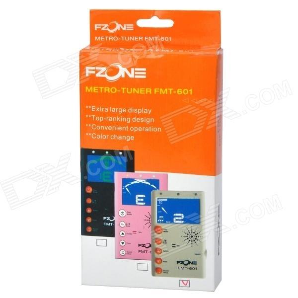 凱傑樂器 FZONE FMT-601 背光式 節拍器 調音器