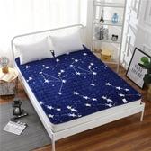 (快速)床墊 法蘭絨床褥學生宿舍床墊0.9單人1m薄款1.2m床1.5折疊水洗1.8m軟墊