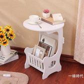現代簡約簡易床頭櫃雕花鏤空小櫃子儲物櫃歐式收納櫃白色臥室WY