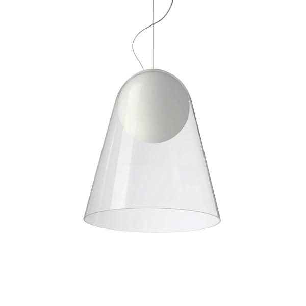 義大利 Foscarini Satellight Suspension Lamp 36cm 透明衛星系列 玻璃 圓錐造型 吊燈