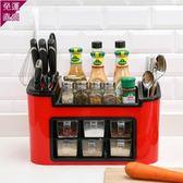廚房置物架 儲物置物架落地調味品調味料調料收納盒櫥柜灶臺收納神器