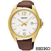SEIKO精工  簡約風尚石英腕錶 SUR216P1