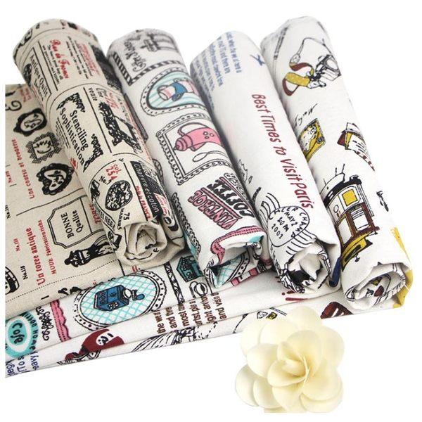 格子布 沙發北歐網紅背景布小清新ins風桌布掛布麻布窗簾棉麻布料1743