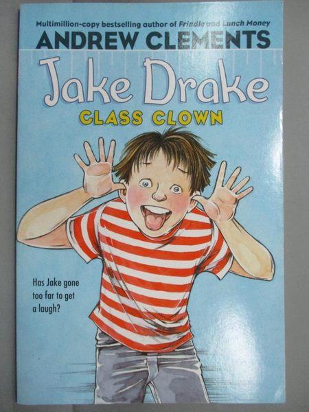 【書寶二手書T1/原文小說_MQE】Jake Drake, Class Clown_Clements