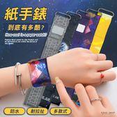 Free Shop 新潮創意紙手錶 共9款 杜邦紙手錶 環保耐撕拉輕巧磁吸式LED數位創意紙手錶【QACL40009】