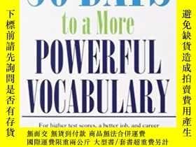 二手書博民逛書店30罕見Days To A More Powerful VocabularyY364682 Wilfred F