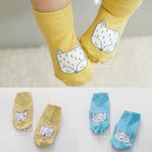 韓國狐狸塗鴉兒童止滑短襪 童襪 止滑襪