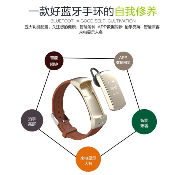 限定款智慧手環 血壓手環 測心率血壓血氧睡眠監測計步防潑水運動健康智慧型手錶運動智慧手環jj
