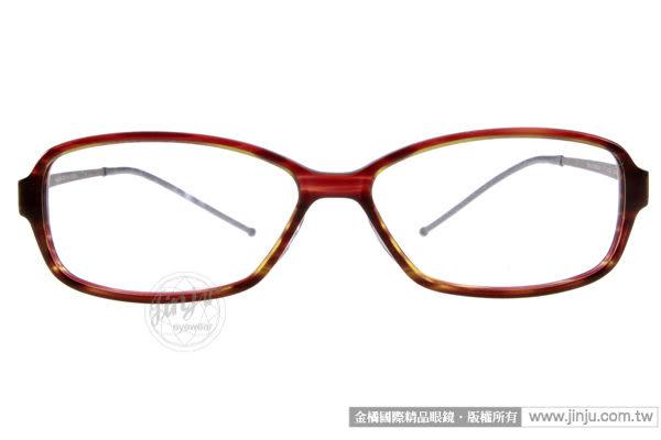 JULIO 光學眼鏡 ZURICH YLB (琥珀棕) 極致輕薄完美工藝 平光鏡框 # 金橘眼鏡