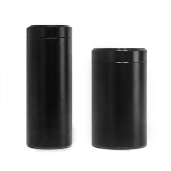 旅行茶葉罐鐵盒包裝盒金屬迷你隨身便攜鈦合金不銹鋼密封罐    芊惠衣屋