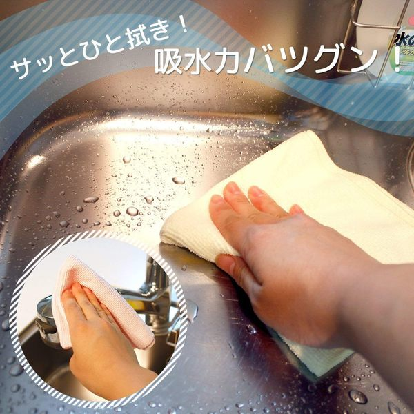 日本 LEC 激落君 多用途超極細纖維抹布 吸水力強 超值好康1包10入【JE精品美妝】