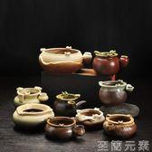 歐式復古煙灰缸創意個性時尚陶瓷煙灰缸大號中式客廳仿古滅煙器  至簡元素