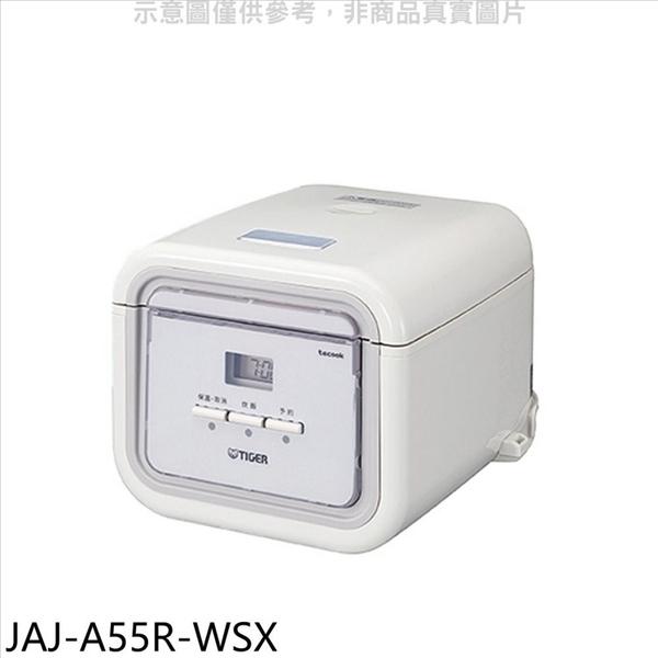虎牌【JAJ-A55R-WSX】3人份-TACOOK白色電子鍋