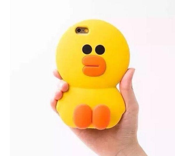【SZ】iphone 6 plus手機殼 矽膠 莎莉 萌小鴨 iphone 6s 6s手機殼 iphone 6s 手機殼 iphone se手機殼 iphone 4s 5s