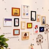 相框掛墻組合照片墻裝飾相框墻創意個性房間臥室墻上相框墻貼畫 萬客居