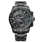 CITIZEN 經典紳士電波光動能腕錶CB5887-55H