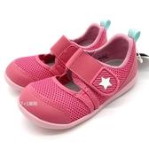 《7+1童鞋》寶寶 日本月星 MOONSTAR 透氣網布 機能涼鞋 運動涼鞋 學步涼鞋 D450 粉色