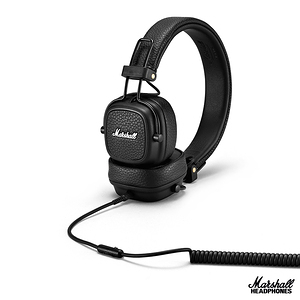 英國Marshall Major III 耳罩式耳機~精簡黑精簡黑