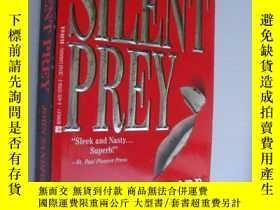 二手書博民逛書店Silent罕見Prey 【沉默的獵物,約翰·桑福德,英文原版】