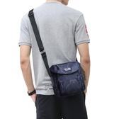 韓版休閒側背包斜挎包防水尼龍小包包男士帆布牛津布背包
