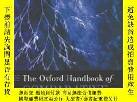 二手書博民逛書店The罕見Oxford Handbook Of Comparative SyntaxY364682 Cinqu