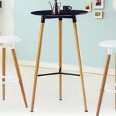 【YFS】麥格吧台桌-60x60x104cm(兩色可選)黑