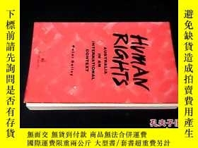 二手書博民逛書店Human罕見Rights: Australia in an I