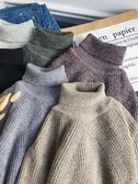 2019新款冬季韓版潮流高領毛衣男套頭加厚寬鬆ins網紅同款針織衫