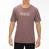Hurley  M BNZ BOXED SS BLACK/(PINK TINT)  T恤-Premium Fit-(男)