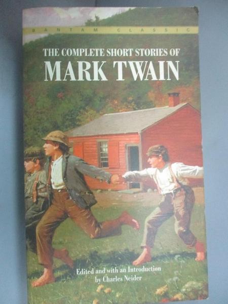 【書寶二手書T1/原文小說_HNS】The Complete Short Stories of Mark Twain_Twain, Mark