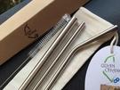 台灣QC 日本鋼材-食品級SUS304不鏽鋼吸管/環保吸管-全組系列
