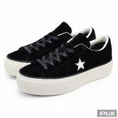 CONVERSE 女 One Star Platform  帆布鞋(低統)- 558950C