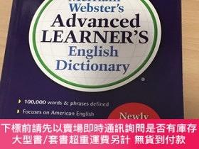 二手書博民逛書店mercian-webster's罕見advances learner's english dictionary奇