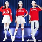 韓版街舞衣服女寬鬆爵士舞服裝舞蹈演出服啦啦操拉拉隊舞蹈服男女