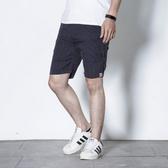 直條紋休閒短褲【LC-868】(ROVOLETA)