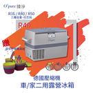 【Opure 臻淨 】R40 德國壓縮機露營車用冰箱 (贈環保野餐餐具組)