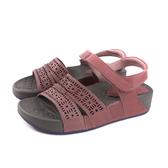 HUMAN PEACE 涼鞋 紫紅色 厚底 女鞋 6810-N112 no148