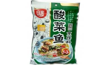 四川特產老壇白家陳記酸菜魚調料200g(現貨+預購)