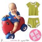 寶寶棒球籃球運動風套裝 短袖+短褲