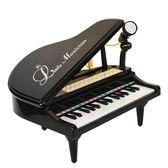 兒童電子琴小鋼琴玩具小孩琴初學帶麥克風1-6歲 WY【全館89折低價促銷】