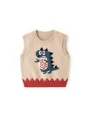 寶寶馬甲春秋男嬰兒馬夾針織秋冬女童背心秋裝衣服外套潮兒童坎肩