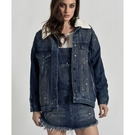 OneTeaspoon 外套 POP CULT DISTRESSED ALL STAR JACKET-藍(女)