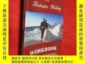 二手書博民逛書店The罕見Destination Wedding Workboo