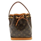 路易威登 LOUIS VUITTON LV 原花手提水桶包 MINI NOE M42227 【 二手品牌BRAND OFF】